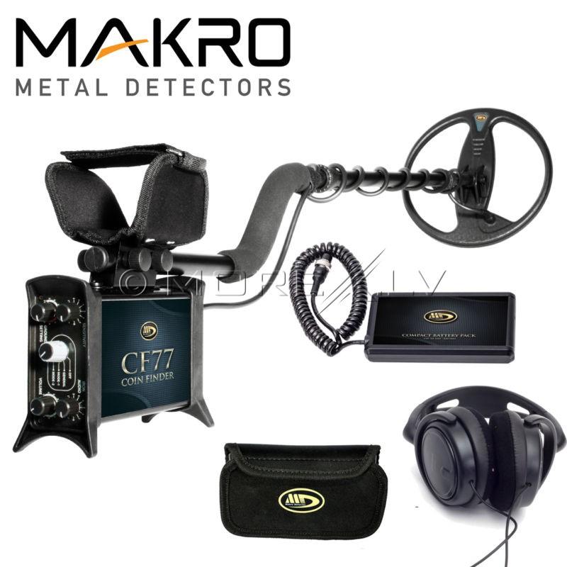 Metal Detector CF77 Coin Finder Standard Package