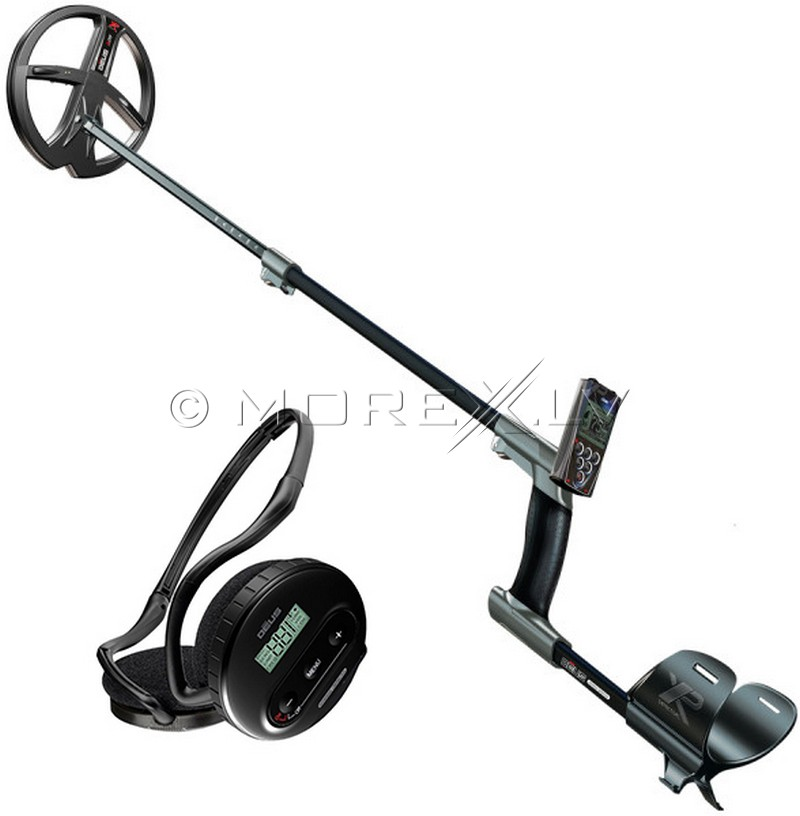 Deus Metal Detector - Full with wireless headphone WS4, RC and coil X35 22