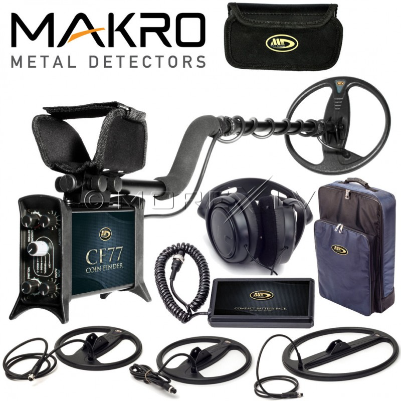Metal Detector CF77 Coin Finder Pro Package