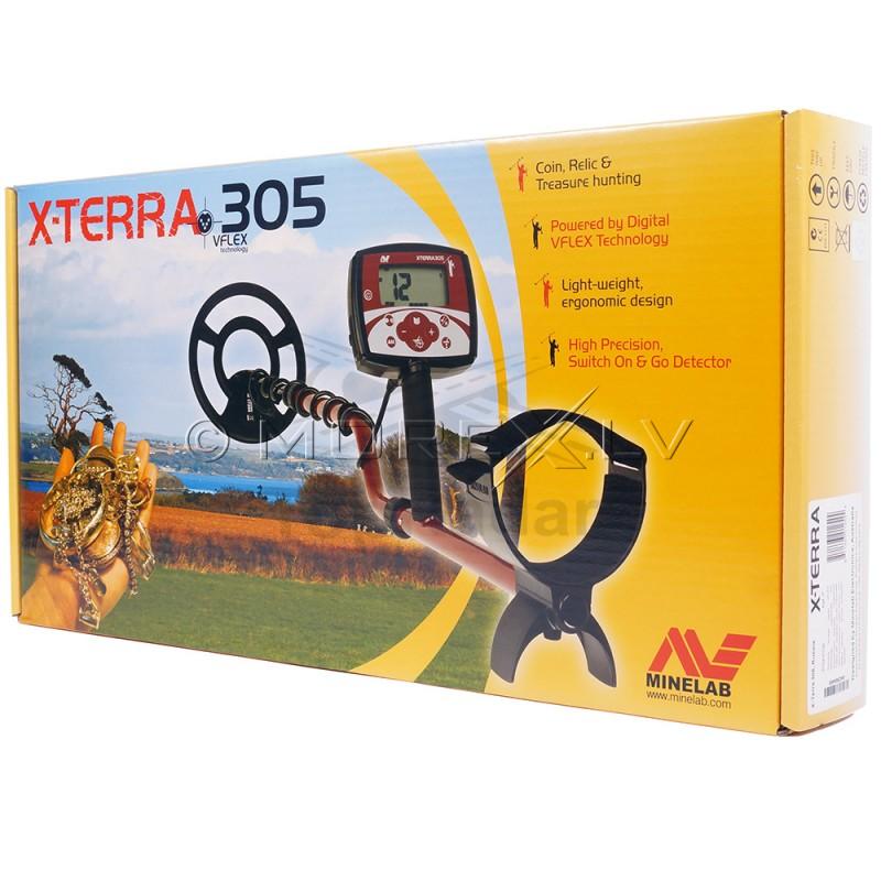 "Minelab X-Terra 305 с катушкой 9"" 7.5kHz CC (3704-0107)"
