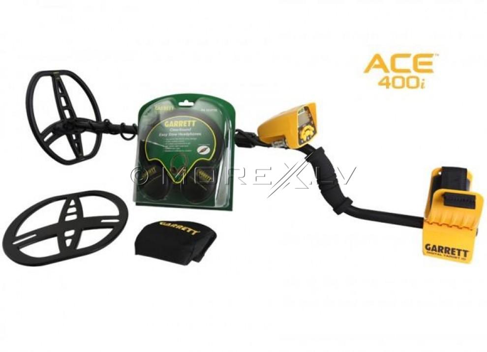 Metāla detektors Garrett ACE 400i + DĀVANAS