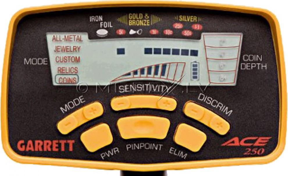 Metāldetektors Garrett ACE 250