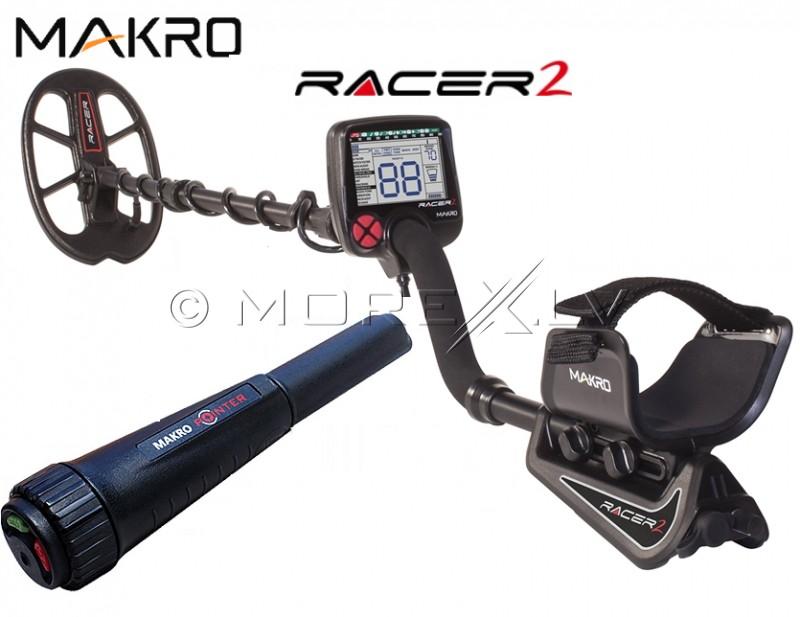Metāla detektors Makro Racer 2 (11000511) + DĀVANA