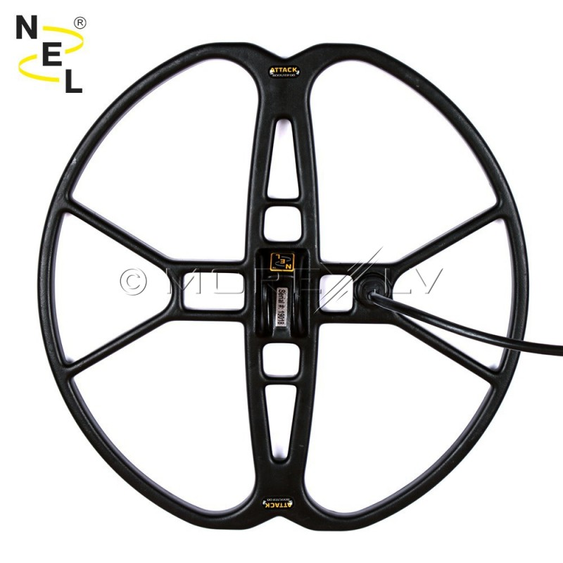 "NEL Attack Waterproof Search Coil 15"" Garrett AT Pro (N02-0102)"