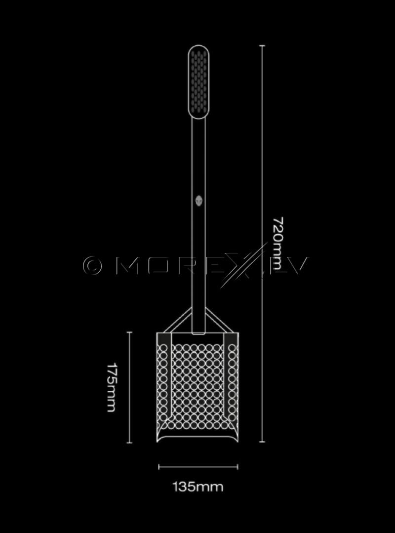 Специальная лопата Extended Black Ada Sandscoop (Stainless Steel) для поиска монет и сокровищ