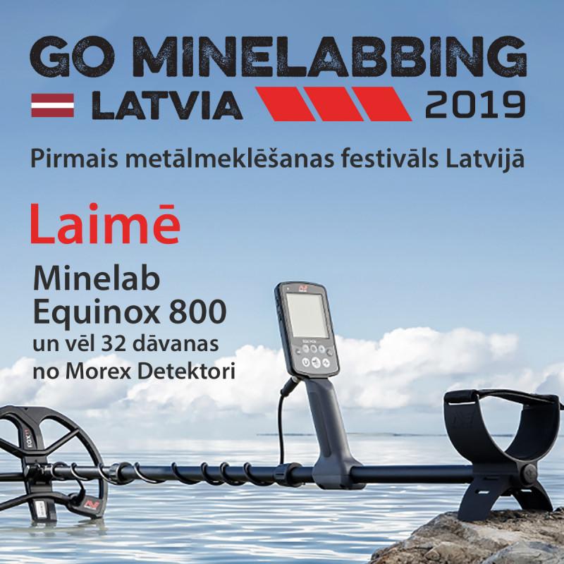 "РАСПРОДАНО Билет на ""Go Minelabbing Latvia 2019"""