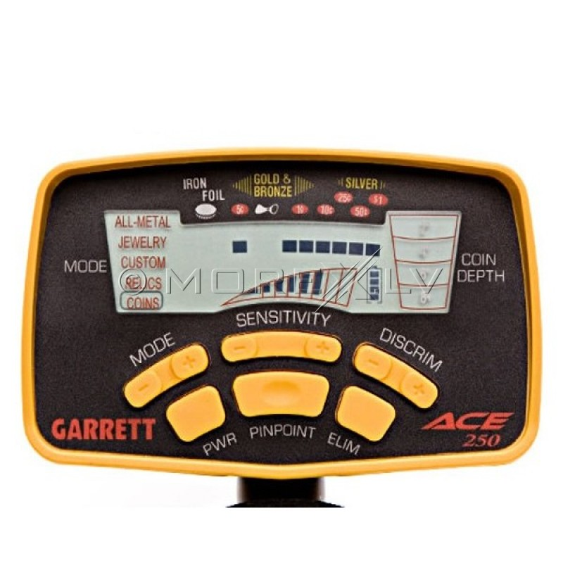 Metāla detektors Garrett ACE 250 + DĀVANAS