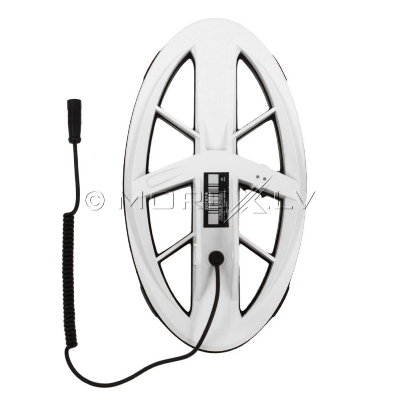 "XP Deus 9.5"" Elliptical Waterproof DD High Frequency Search Coil (DELLHF)"