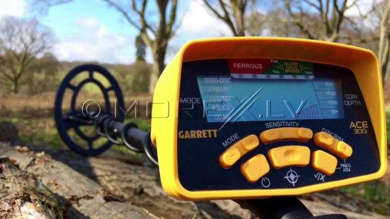 Metal detector GARRETT ACE 300i + GIFTS