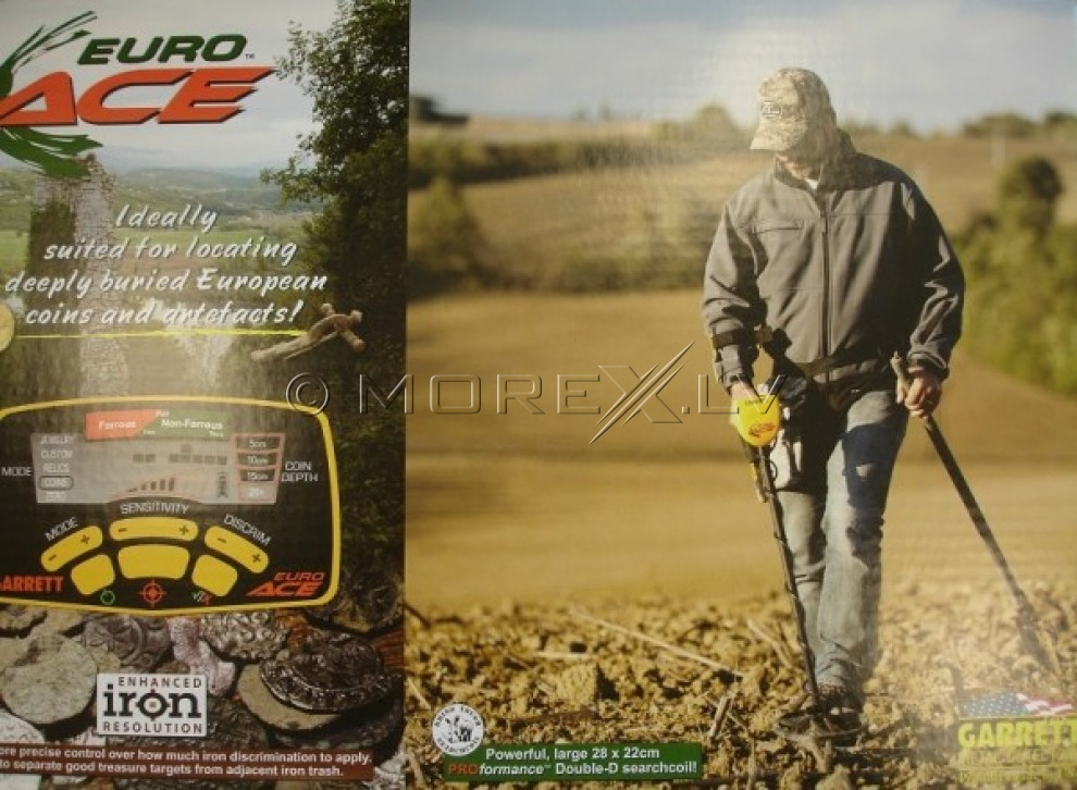 Metal detector Garrett ACE 350 (EURO ACE) + GIFTS