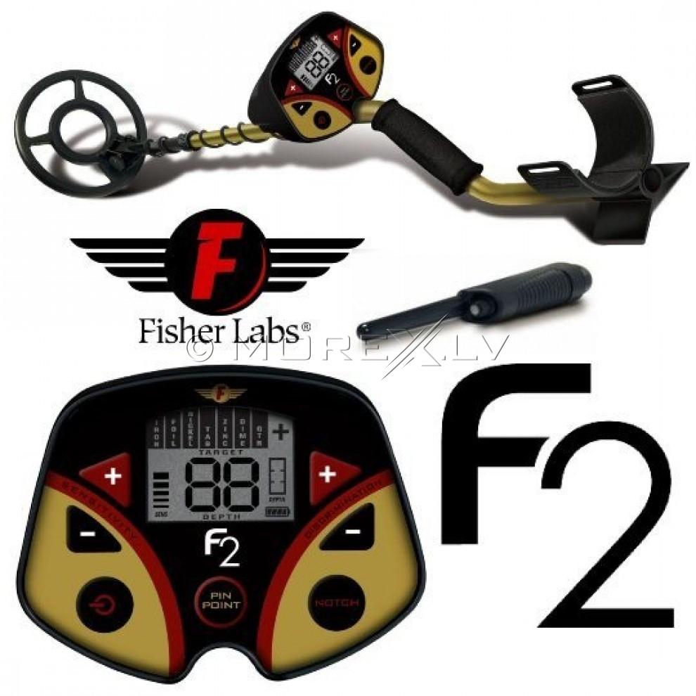 Металлоискатель Fisher F2  +  Pinpointer