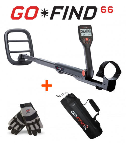Metal detector Minelab GO-FIND 66+GIFTS