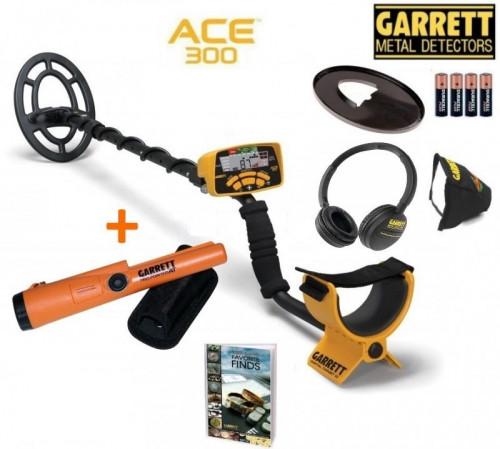 Metāldetektors Garrett ACE 300i + Garrett Pro-Pointer AT + DĀVANAS