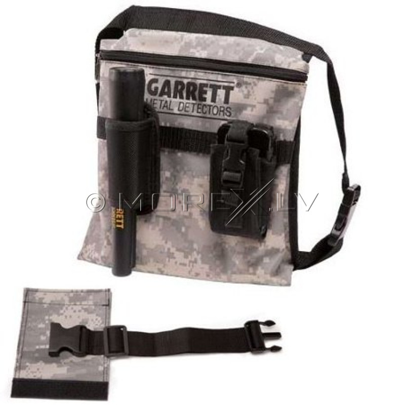 Garrett Camo Canvas Metal Detecting Finds Recovery Bag/Pouch