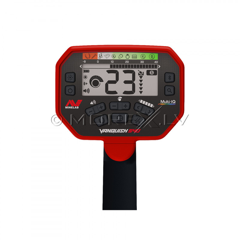 Rent metal detector Minelab Vanquish 540