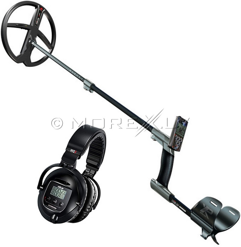 Deus Metal Detector - Full with wireless headphone WS5, RC and coil X35 28 (ENG)